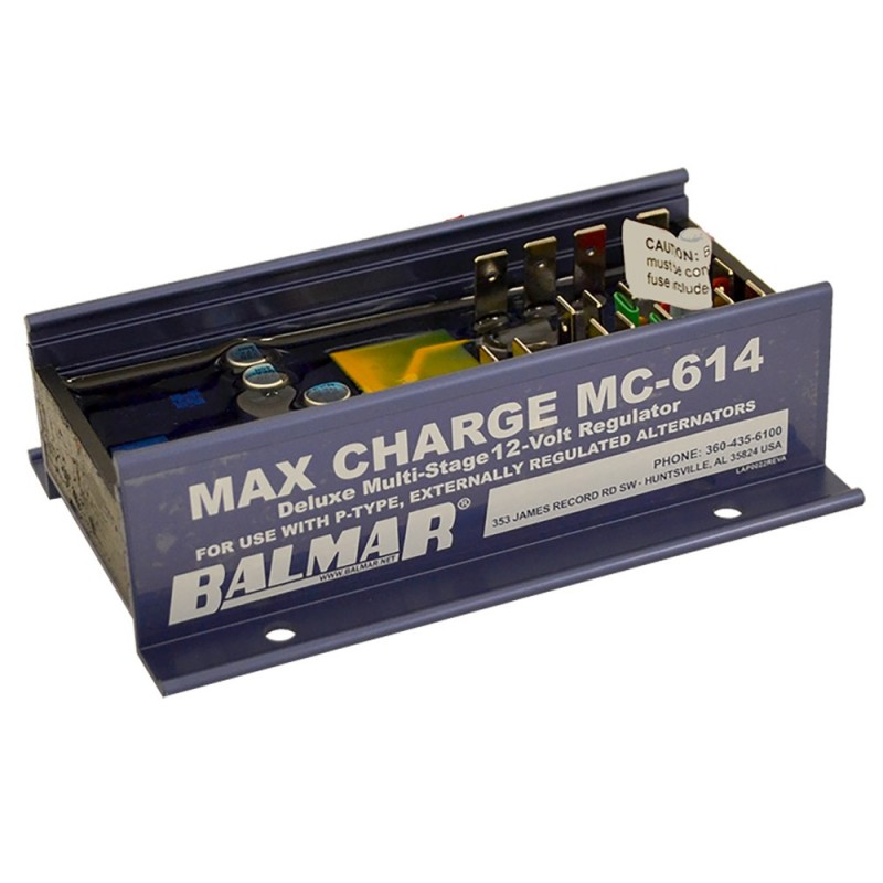 Balmar Max Charge MC-614 Multi-Stage Regulator w-o Harness - 12V