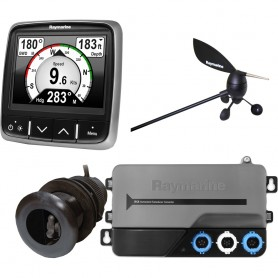 Raymarine i70s System Pack w-Color Instrument Wind- DST Transducers- iTC-5- 3M Backbone- T-Piece- Power 2 Backbone Terminators