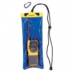 Dry Pak VHF Radio Case - Clear-Blue - 5- x 12-