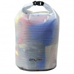 Dry Pak Roll Top Dry Gear Bag - 11-1-2- x 19- - Clear