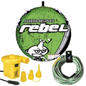 AIRHEAD Rebel Kit w-Deck Tube- Pump - Tube Rope