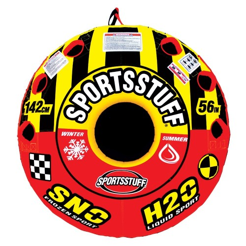 SportsStuff Super Crossover 2 Person Snow-Water Tube