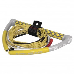 AIRHEAD Bling Spectra Wakeboard Rope - 75- 5-Section - Yellow