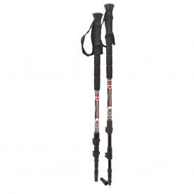 YUKON Carbon Lite Trekking Snowshoe Pole - Red