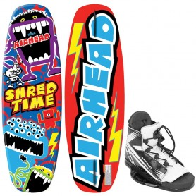AIRHEAD Shred Time Wakeboard - 124cm w-VENOM 4-8 Bindings