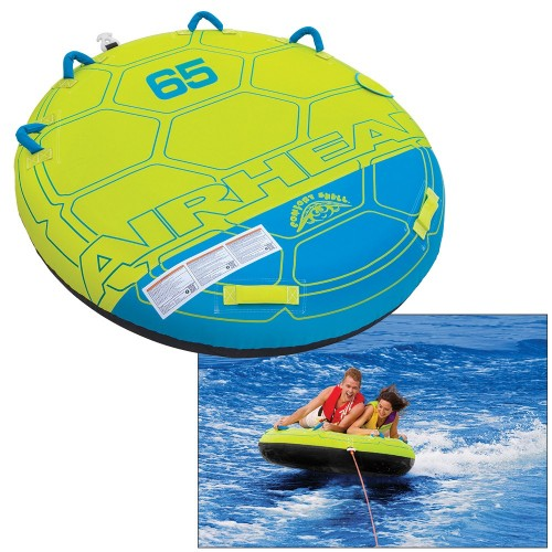 AIRHEAD Comfort Shell Deck Water Tube - 2-Rider