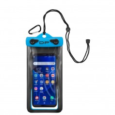 Dry Pak Smartphone- GPS- MP3 Case - 4- x 7- - Electric Blue