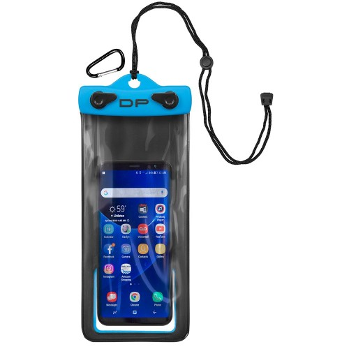 Dry Pak Cell Phone Case - 4- x 8- - Electric Blue