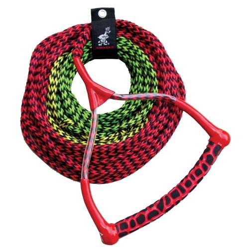 AIRHEAD Radius Handle Ski Rope - 3 Section - 45- 60 or 75