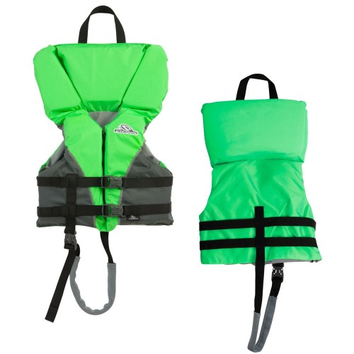 Stearns Heads-Up Child Nylon Vest Life Jacket - 30-50lbs - Green
