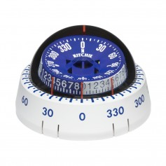 Ritchie XP-98W X-Port Tactician Compass - Surface Mount - White