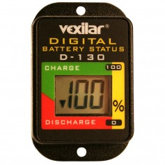 Vexilar Digital Battery Status Gauge