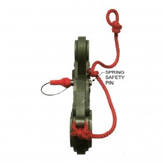 Sea Catch TR7 Spring Loaded Safety Pin - 5-8- Shackle