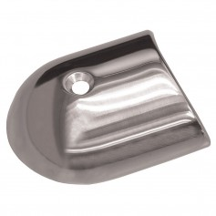 TACO Polished Stainless Steel 2-19-64 Rub Rail End Cap
