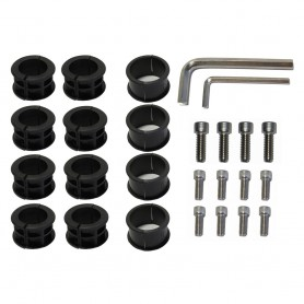 SurfStow SUPRAX Parts Kit - 12-Bolts- 3 Sizes of Inserts- 2-Allen Wrenches