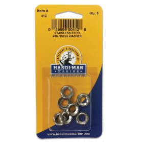Handi-Man Stainless Steel Finish Washer -10