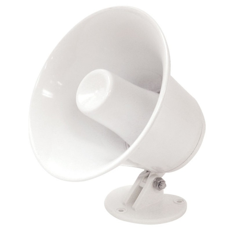 Speco SPC-5P 5- Weatherproof PA Speaker w-Plastic Base - 8 ohm