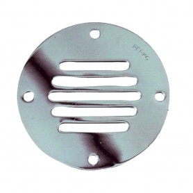 Perko Chrome Plated Brass Round Locker Ventilator - 3-1-4-