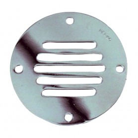 Perko Chrome Plated Brass Round Locker Ventilator - 2-1-2-