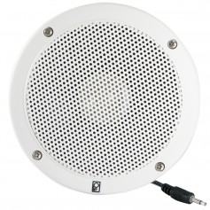 Poly-Planar 5- VHF Extension Speaker -Single- - Flush Mount - White