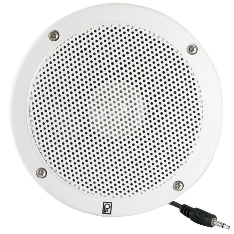 Poly-Planar 5- VHF Extension Speaker -Single- - Flush Mount - White
