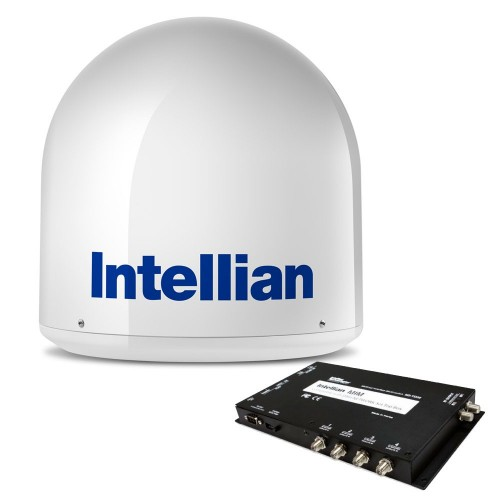 Intellian i2 US System - DISH-Bell MIM Switch 15M RG6 Cable