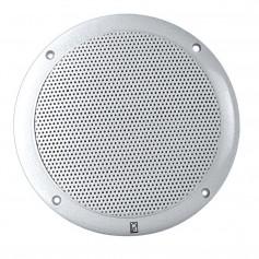 Poly-Planar 4- 2-Way Coax Integral Grill Marine Speaker - -Pair- White