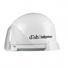 KING DISH Tailgater Satellite TV Antenna - Portable