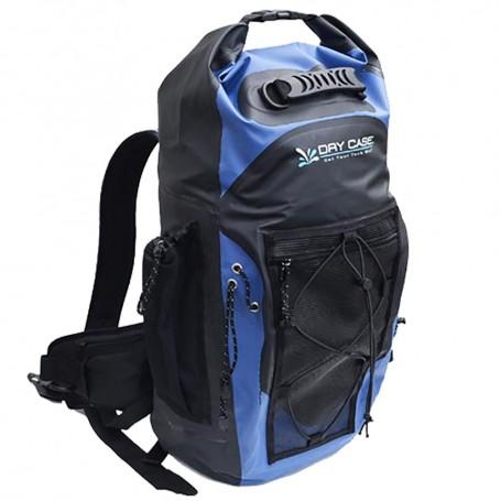 DryCASE Masonboro Blue 35 Liter Waterproof Adventure Backpack