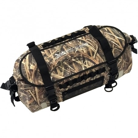 DryCASE The Forty Camo Shadow Grass Blades 40 Liter Waterproof Duffel-Backpack