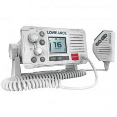 Lowrance Link-6 VHF Marine Radio w-DSC - White