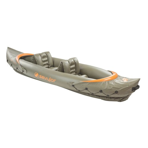Sevylor Tahiti Inflatable Fishing Kayak - 2-Person