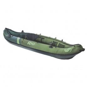 Sevylor Rio Inflatable Fishing Canoe - 1-Person