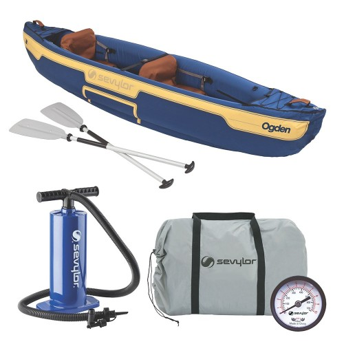 Sevylor Ogden Inflatable Canoe Combo - 2-Person
