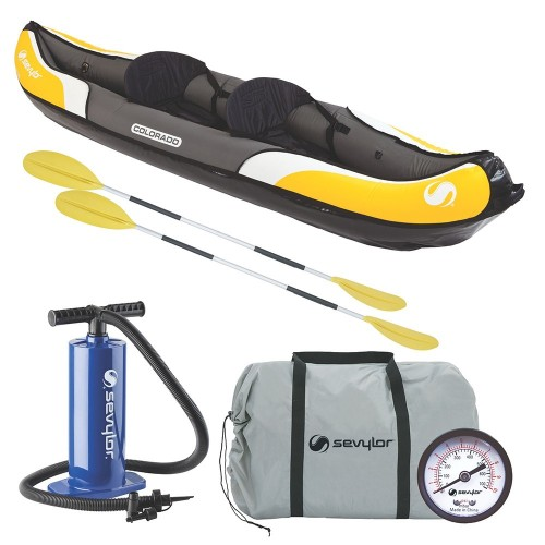 Sevylor Colorado Inflatable Kayak Combo - 2-Person