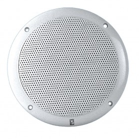 Poly-Planar 5- 2-Way Coax-Integral Grill Speaker - -Pair- White