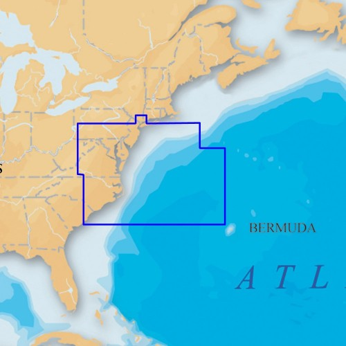 Navionics Platinum- - US Mid Atlantic and Canyons microSD-SD