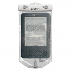 Dry Pak Clear Tablet Case f-Kindle White-Grey - 6- x 10-