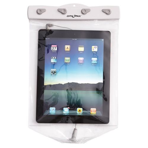 Dry Pak Clear Tablet Case f-iPad - White-Grey - 9- x 12-