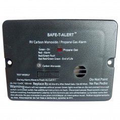 Safe-T-Alert Combo Carbon Monoxide Propane Alarm - Surface Mount - Mini - Black
