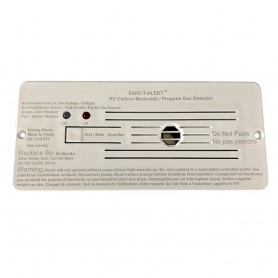 Safe-T-Alert Combo Carbon Monoxide Propane Alarms Flush Mount - White