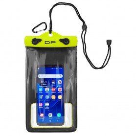 Dry Pak Smart Phone-GPS-MP3 Case - Lemon Lime - 5- x 8-