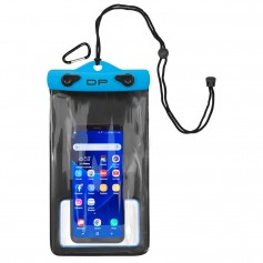 Dry Pak Smart Phone-GPS-MP3 Case - Electric Blue - 5- x 8-