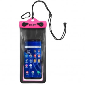 Dry Pak Smart Phone-GPS-MP3 Case - Hot Pink - 4- x 8-