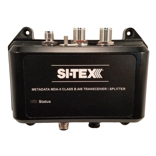 SI-TEX MDA-5 Hi-Power 5W SOTDMA Class B AIS Transceiver w-Built-In Antenna Splitter Long Range Wi-Fi