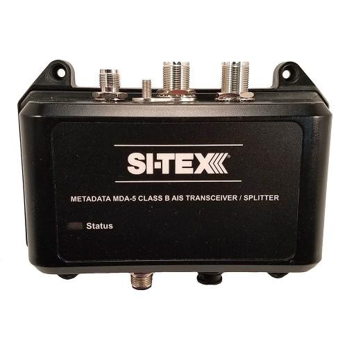 SI-TEX MDA-5 Hi-Power 5W SOTDMA Class B AIS Transceiver w-Built-In Antenna Splitter Long Range Wi-Fi