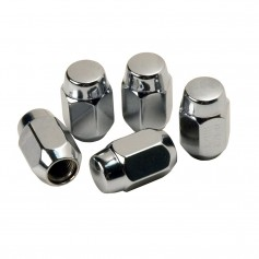 C-E- Smith Chrome Acorn Wheel Nuts - 1-2--20