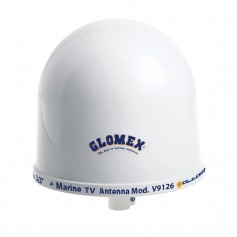 Glomex 10- Dome TV Antenna w-Auto Gain Control Mount