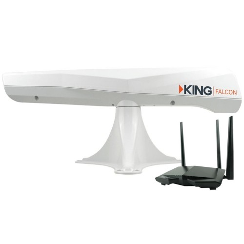 KING Falcon Directional Wi-Fi Extender - White