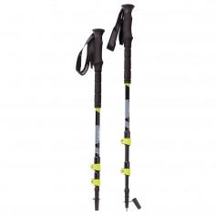 YUKON Pro Trekking Poles - Gray-Black-Neon Green